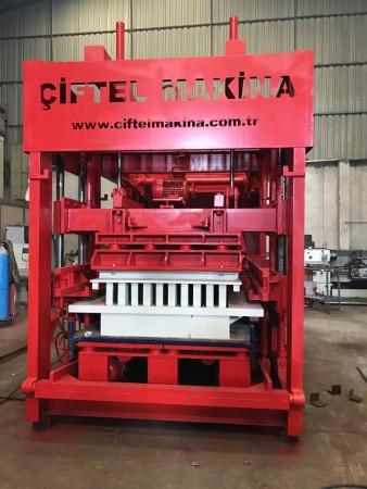 Machine fabrication de bloc béton
