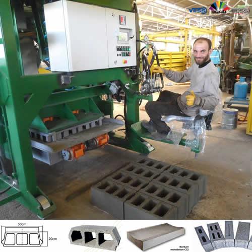 Machines de Blocs Béton Maroc