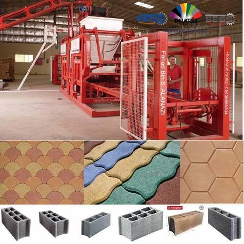 Machine a Brique Pas Cher Semi-Automatique Prix, Machine Fabrication de Brique Neuf Vendre