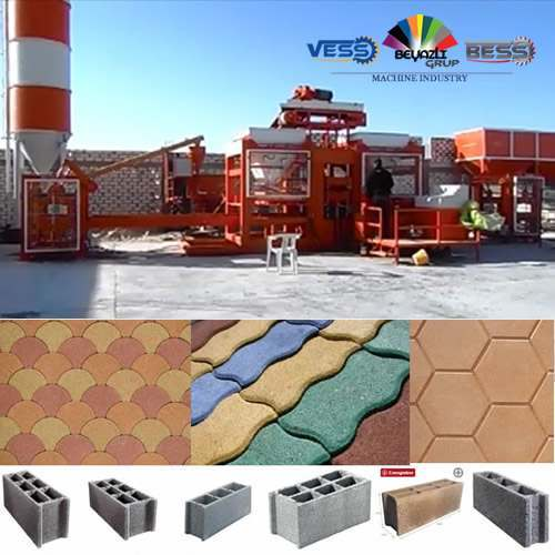 Machine de Fabrication de Brique a Vendre Neuf