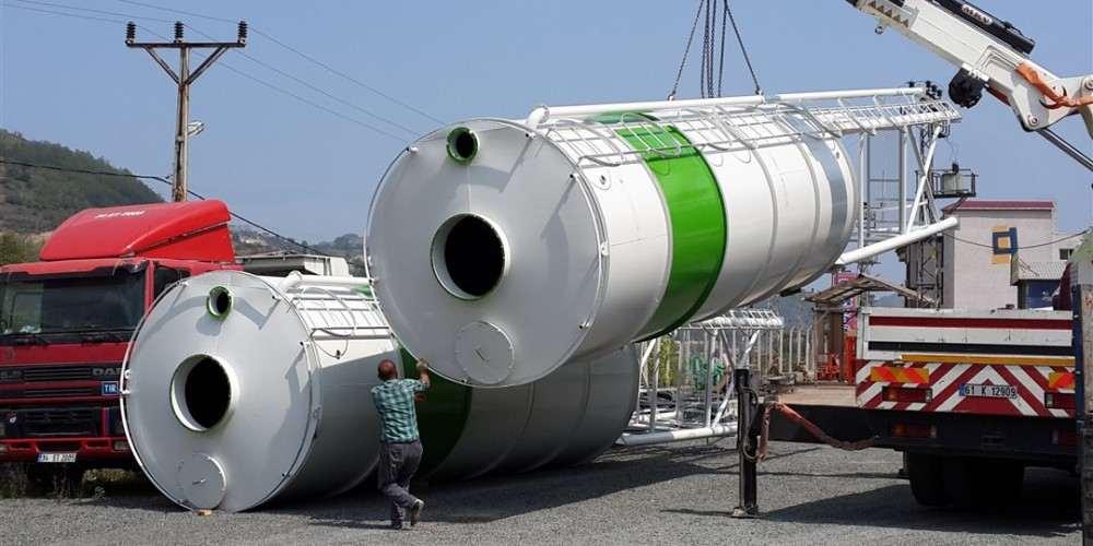 Silo de stockage de ciment, Centrale a Béton Mobile, Centrale a Béton Fixe, Prix et Capacité