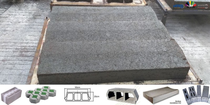 Machine a Brique – Parpaing Mobile – Centrale a Béton – Compact Diamond 8.1
